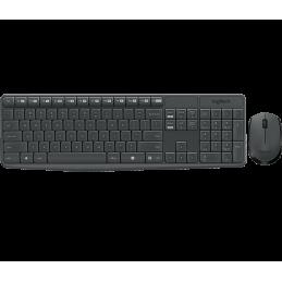 Logitech MK235 kit tastiera...