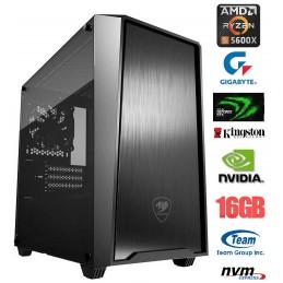 PC DELUXE Amd Ryzen 5 5600X...